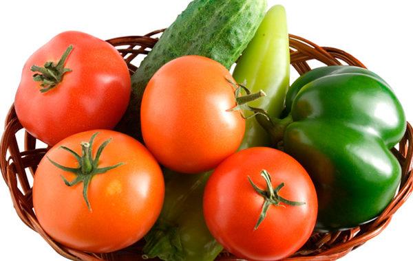 Овощные культуры (помидоры, огурцы, перец)